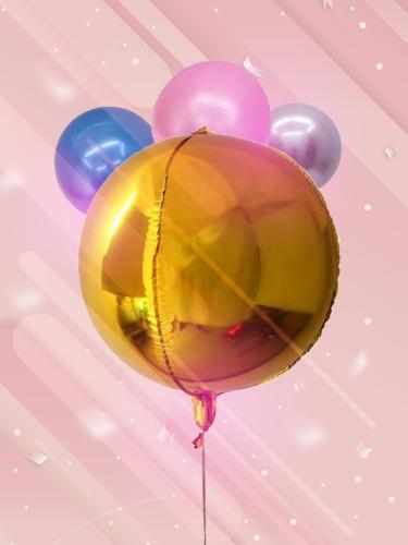 yuvarlak folyo balon